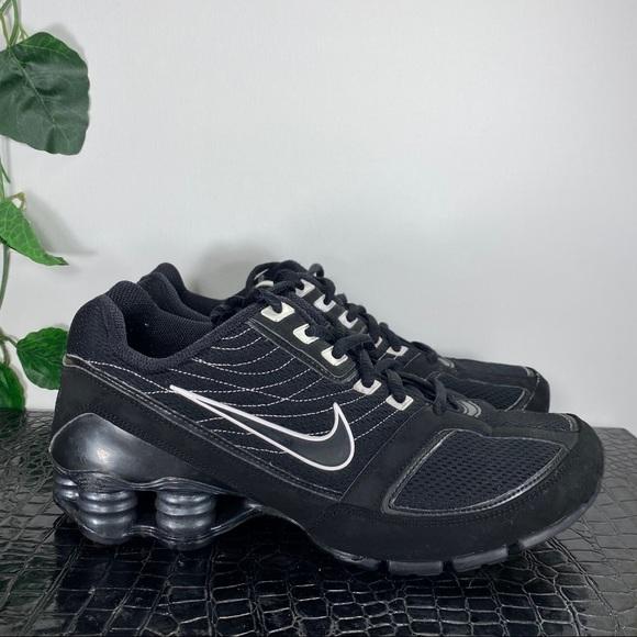 Nike Shoes | Shox Black Womens Size 8
